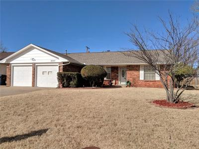 Oklahoma City Single Family Home For Sale: 2441 NW 110th Street