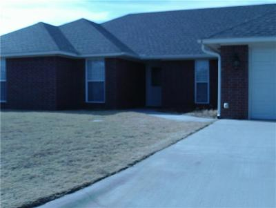Altus Single Family Home For Sale: 3025 White Tail Drive