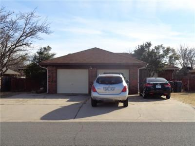 Oklahoma County Multi Family Home For Sale: 7016 Woodlake