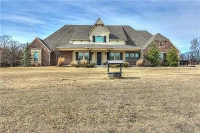 McLoud Single Family Home For Sale: 17806 Deer Trail