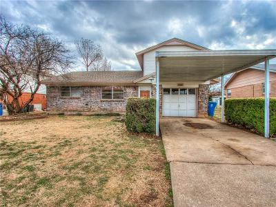 Oklahoma City Single Family Home For Sale: 6200 SE 10th Street