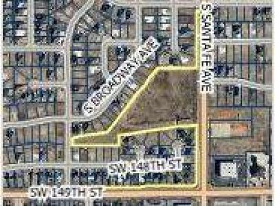 Oklahoma City Residential Lots & Land For Sale: S Santa Fe