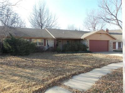 Oklahoma City OK Single Family Home Sale Pending: $119,900