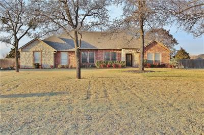 Blanchard OK Single Family Home For Sale: $253,900