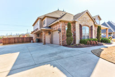 Edmond Single Family Home For Sale: 3508 Sawgrass Road