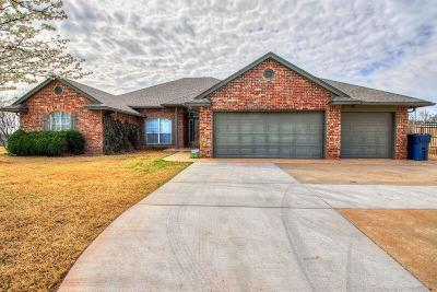 Choctaw Single Family Home For Sale: 7801 Timber Creek Dive