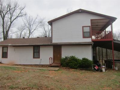 Wanette OK Single Family Home For Sale: $132,000