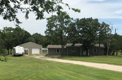 Lincoln County Single Family Home For Sale: 357082 E 1040 Road