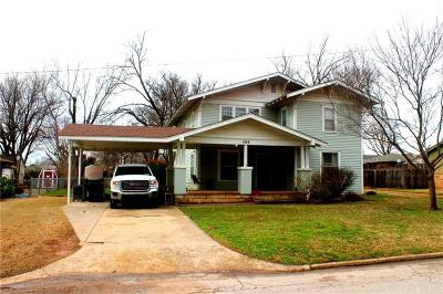 Purcell Single Family Home For Sale: 509 N 6th