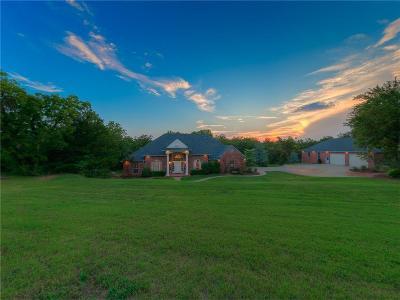 Edmond Single Family Home For Sale: 6011 N Air Depot
