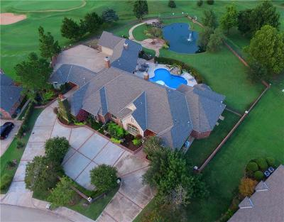 Edmond Single Family Home For Sale: 5704 Country Club Drive