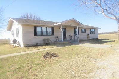 Shawnee Single Family Home For Sale: 45401 Garretts Lake Road