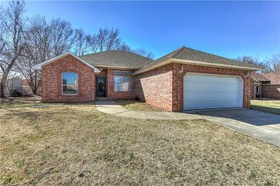 Midwest City Single Family Home For Sale: 3905 Penny Drive