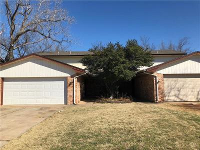 Oklahoma County Multi Family Home For Sale: 6400 Galaxie Drive