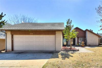 Canadian County, Oklahoma County Single Family Home For Sale: 3008 Castle Rock Road