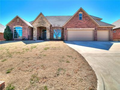 Choctaw Single Family Home For Sale: 12616 Forest Oaks