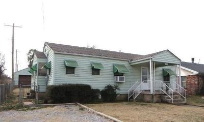 Chickasha OK Single Family Home For Sale: $39,900