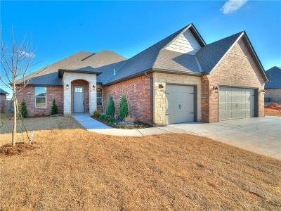 Mustang Single Family Home For Sale: 5600 Ledgestone Drive