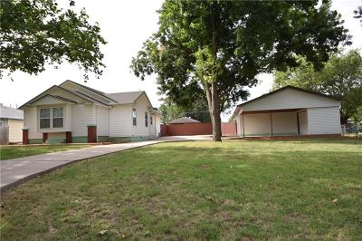 Guthrie Single Family Home For Sale: 1705 W Oklahoma Avenue