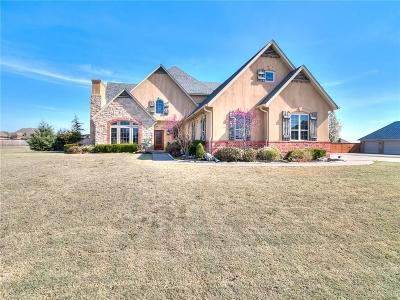 Goldsby Single Family Home For Sale: 243 Brandon Circle