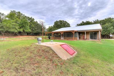 Wellston Single Family Home For Sale: 830689 S 3320 Road #15 Acre