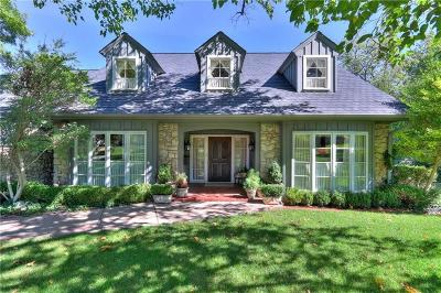 Nichols Hills Single Family Home For Sale: 1607 Queenstown Road