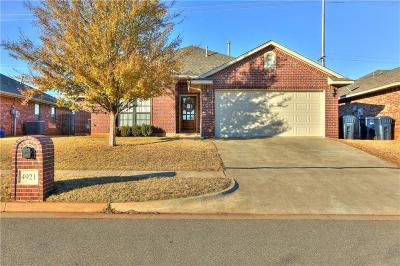 Edmond Rental For Rent: 4921 NW 164th Terrace