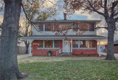 Nichols Hills Rental For Rent: 6503 Avondale Drive #Downstai