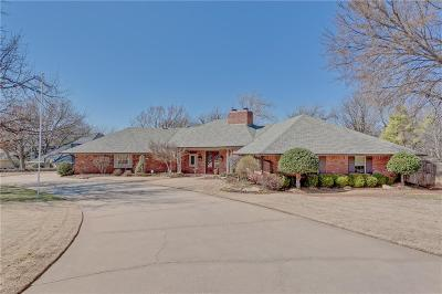Oklahoma City Single Family Home For Sale: 3301 Hickory Stick