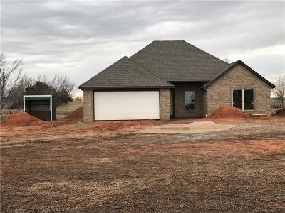 Blanchard OK Single Family Home For Sale: $187,900