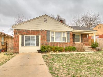 Oklahoma City Single Family Home For Sale: 4341 NW 17th