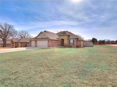 Choctaw Single Family Home For Sale: 15050 Red Stone Road