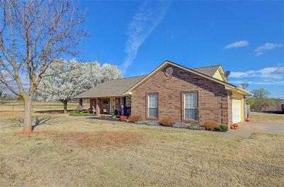Blanchard OK Single Family Home For Sale: $279,900
