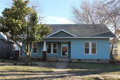 Stroud OK Single Family Home For Sale: $37,500