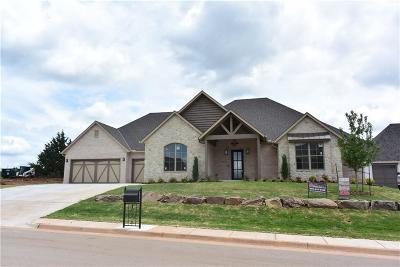Edmond Single Family Home For Sale: 3116 Hillside Drive