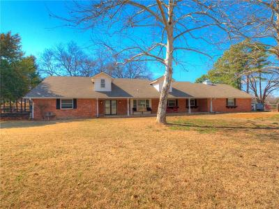McLoud Single Family Home For Sale: 26 Horseshoe Lane