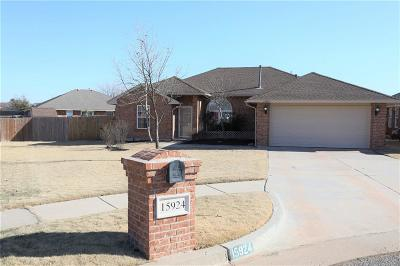 Edmond Rental For Rent: 15924 Katie Ridge Drive