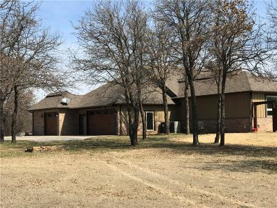 Blanchard OK Single Family Home For Sale: $494,000
