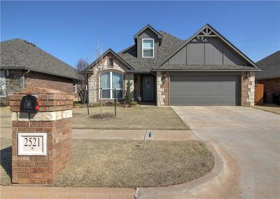 Edmond Single Family Home For Sale: 2521 NW 193rd