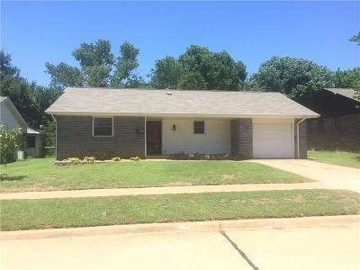 Norman Single Family Home For Sale: 1607 Pinewood Drive