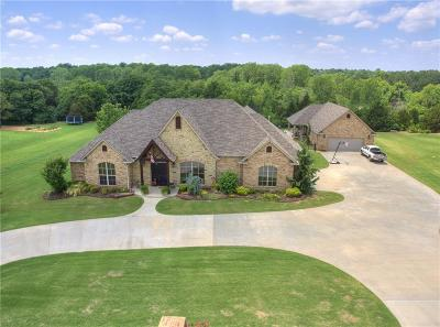 Choctaw Single Family Home For Sale: 4501 Jacobs Lane