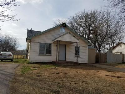Purcell Single Family Home For Sale: 409 S Santa Fe