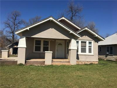 Chickasha OK Single Family Home For Sale: $33,600