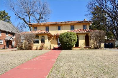 Oklahoma City Single Family Home For Sale: 1612 N Classen Drive