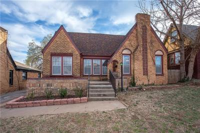 Oklahoma City Single Family Home For Sale: 2836 NW 22 Street