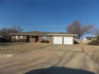 Warr Acres OK Single Family Home For Sale: $115,000