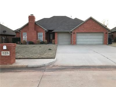 Midwest City Single Family Home For Sale: 625 Crescent