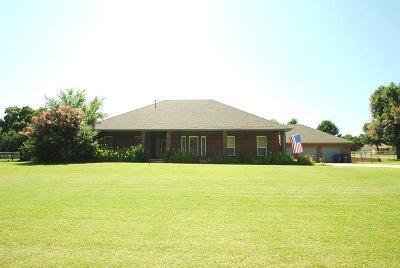 Harrah Single Family Home For Sale: 3137 Dixie Lane