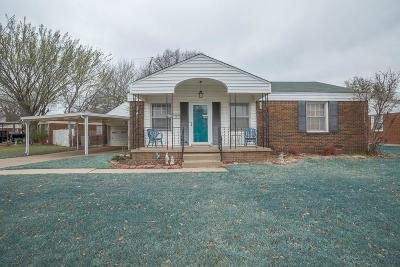 Midwest City Single Family Home For Sale: 1110 N Redbud Drive