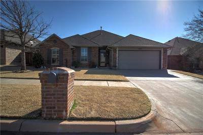 Edmond Single Family Home For Sale: 17028 Hardwood Place